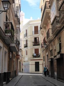 Quaint street.
