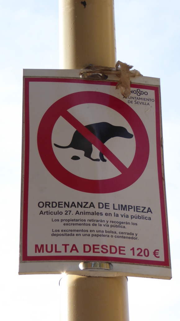 This sign does not exist in Granada, Spain.