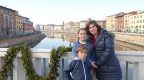 Same fiume as in Florence.