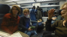 The train back to Florence rocked, but did not lean.