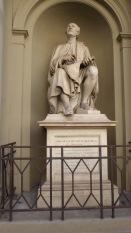 Brunelleschi contemplates his masterpiece.