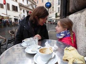 Passing down café lore at Caffé Sant'Eustachio.