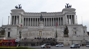 Another large monument, this time built in honor of Victor Emmanuel II, of whom you have probably never heard.