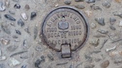 On hydrants used by bomberos.