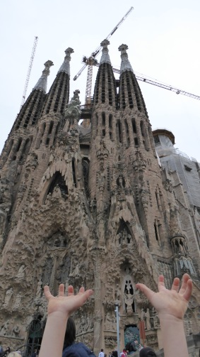 Sagrada Família: After 134 years, still not completed.