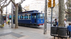 Ride this funicular to Tibidabo.