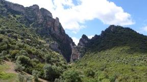 Past gorges.